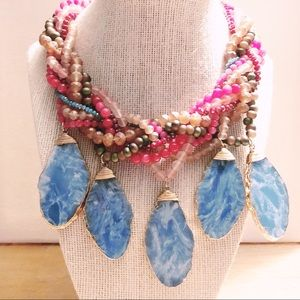 Colorful Chunky Statement Necklace